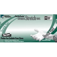 Gloves, Exam, Large (8_ - 9), Stretch Vinyl, Non-Sterile, PF, Smooth, 100/bx, 10 bx/cs