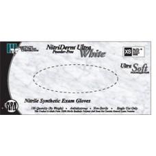 Gloves, Exam, Large, Nitrile, Non-Sterile, PF, Textured, ThinFilm, White, 100/bx, 10bx/cs