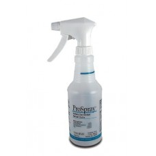 Accessories: Empty 16 oz Spray Bottle Labeled to Meet OSHA Guidelines, Includes Spray Head & Squirt Top, 6/cs