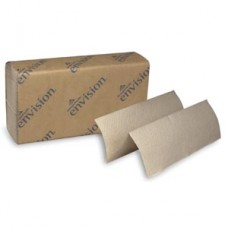EPA Multifold Paper Towels, Paper Band, Brown, 9_