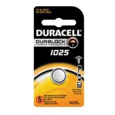 Battery, Lithium, Size DL1025, 3V, 6/bx