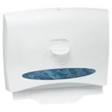 Windows Toilet Seat Cover Dispenser, Pearl White, 17.4