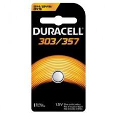 Battery, Silver Oxide, Size 303/357, 1.5V, 6/bx